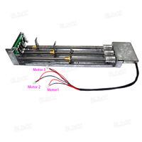 3V-12V DC Linear Sliding Stage T8 Screw Rod Sliding Table Brush DC Gear Motor FY