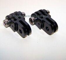 2 GENUINE GoPro straight chin mounts joints gopro chin mount allen screws