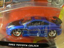10Vox Tracksters 2002 Toyota Celica 1:64 Series 2 Limited Edition Blue Toy Car