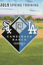 2019 LOS ANGELES DODGERS & CHICAGO WHITE SOX SPRING TRAINING POCKET SCHEDULE 😀
