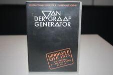 VAN DER GRAAF Generator GODBLUFF LIVE 1975 MUSIK DVD DIGITALLY REMASTERED
