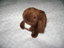 """American Girl Doll Julie'S Rabbit Bunny Brown White Pet Nutmeg Retired 4.5"""""""