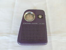 Mitsubishi 7X-850 Portable Battery AM radio Collectable Vintage 1960/70s Japan