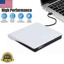 Slim External Cd Dvd Drive Usb 3.0 Disc Player Burner Writer for Pc Laptop Mac