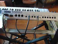 Korg Radias Virtual Analog Keyboard Synthesizer w/ Condenser Microphone