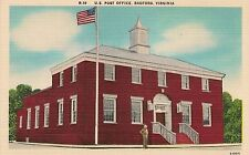 U.S. Post Office in Radford VA Postcard