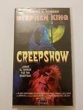 CREEPSHOW VHS Pelicula edicion Española basada en Stephen King