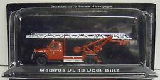 Firefighter Magirus DL 18 Opel Blitz , 1:72 , Atlas ,Remaining stock, New