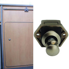 Mini Druckknopf-Fang-Verschluss-Schrank-Tür-Drehknopf Wohnmobil-Wohnwagen NEW.~-