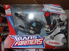 Hasbro Transformers Animated Shockwave 4 Modes Switches Original New
