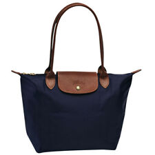 100% Authentic Longchamp Le Pliage Small Tote Bag Navy Blue