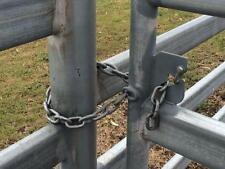 GATE LATCH, CHAIN LATCH, SECURITY GATE CATCH, WELD IN LATCH. PACK OF 5