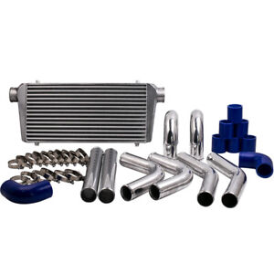 "600x300x76 Intercooler + 2.5"" 64mm Intercooler Turbo Piping Pipe Kits"