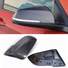 New Mirror Cover Cap Real Carbon Fiber Trim for BMW 3 Series F30 F35 Replacement