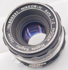 Nikon Nikkor-H 50mm F2.0 Ai Moded Prime Lens For SLR & DSLR Cameras