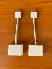 2-Pack Genuine Apple HDMI to DVI Adapter MJVU2AM/A