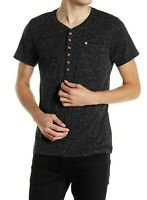 Diesel Brand New Mens' T-Erato T-Shirt with Dot Print in Black, Short Sleeve...