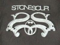 STONE SOUR COREY TAYLOR TOUR 2017 - BLACK MEDIUM T-SHIRT -Y1718