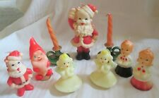 Lot of 9 Vintage 1950's Unused Gurley Christmas Candles