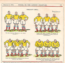 "RUGBY. "" PUBLICITY DRILL "" 1925. RARE."