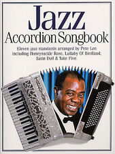JAZZ HITS Accordion Music Book Songbook Learn to Play