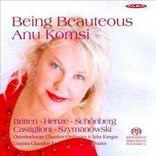 Being Beauteous - Anu Komsi, soprano, New Music