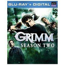 Grimm: Season Two (Blu-ray Disc, 2013, 5-Disc Set)