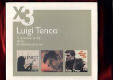 TENCO LUIGI-COFANETTO DI.3 CD NUOVO SIGILLATO