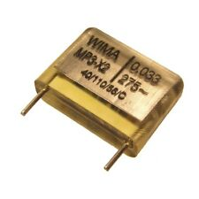 4 WIMA Kondensator MP3-X2 Entstörkondensator MP 3-X2 275V 0,033uF 15mm 054451