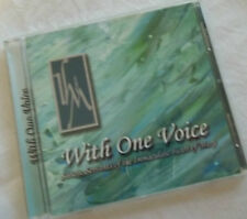 """Religious Music CD """"With One Voice"""", Sisters of IHM, Great Gift choir or Rel Ed."""