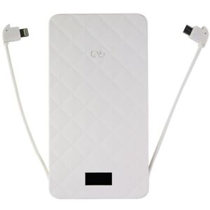 iWalk Extreme Trio 10,000mAh Portable Charger for iPhone and More - White