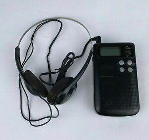 Vintage 1992 Radio Shack Porta Vision 12-174 AM FM Stereo VHF TV + Headphones