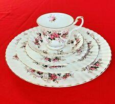 Royal Albert Lavender Rose England  Fine Bone China 5-Piece Place Setting