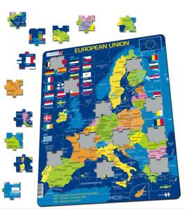 European Union Political- Frame/Board Jigsaw Puzzle 29cm x 37cm (LRS A39-GB)