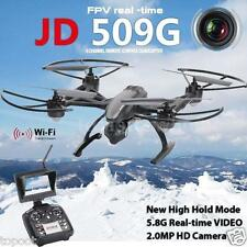 JXD 509G RC Quadcopter 2.4G 4CH 6-Axis Gyro 5.8G FPV DRONE 2.0MP Camera+Monitor