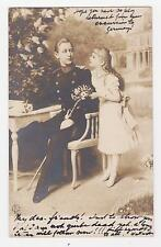 RPPC,Germany,Royalty,Crown Prince Wilhelm & Princess Victoria Louisa,Used,c.1903