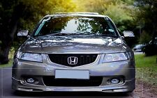 Honda Accord Type S Acura TSX FRONT LIP SPOILER NH623M Silver JDM NEW 03-05