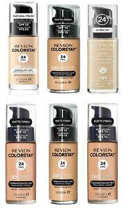 Revlon Colorstay Foundation 24 Hours Makeup 30ml - Choose Shade