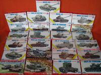 Esci Ertl ® Konvolut 25x Panzer Tanks Modellbau Leopard Churchill M48 M60 1:72