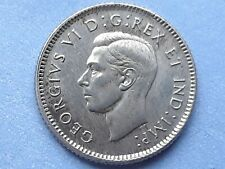 Canada 10 cents 1944 silver