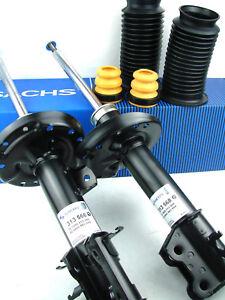 Sachs Shock 313566 313568 + Dust Protection Caps 900087 Vauxhall Corsa D Set