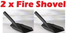 "2 x 6"" Metal Fire Shovel - Dust Spade Scoop Coal Removes Ash Dust Pan Metal"