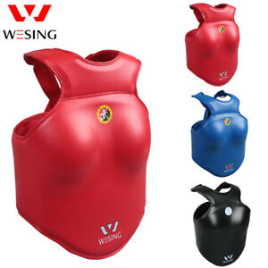 Wesing women Wushu chest guards IWUF approved chest protector Sanda competition