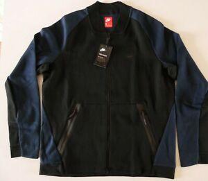 886617-010 New with tag Men Nike Tech Pack Fleece Varsity Full Zip Jacket