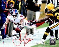 Amani Toomer autographed signed 8x10 photo NFL New York Giants PSA COA