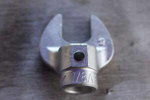 "Rahsol Norbar 7/8"" Open End Torque Wrench Head"