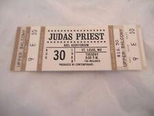 Judas Priest 1988 Mercenaries Of Metal Tour NM Un-Used Concert Ticket