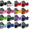 BOWTIES Bow Tie Adjustable Solid Color Tuxedo Formal Classic Fashion Novelty