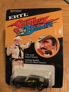 1980 Ertl Smokey And The Bandit Trans Am 1/64 Scale Diecast Car Unpunched