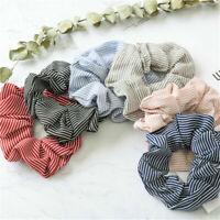 Fashion Women Elastic Hair Bands Ponytail Holder Bobble Scrunchies Hair Ties